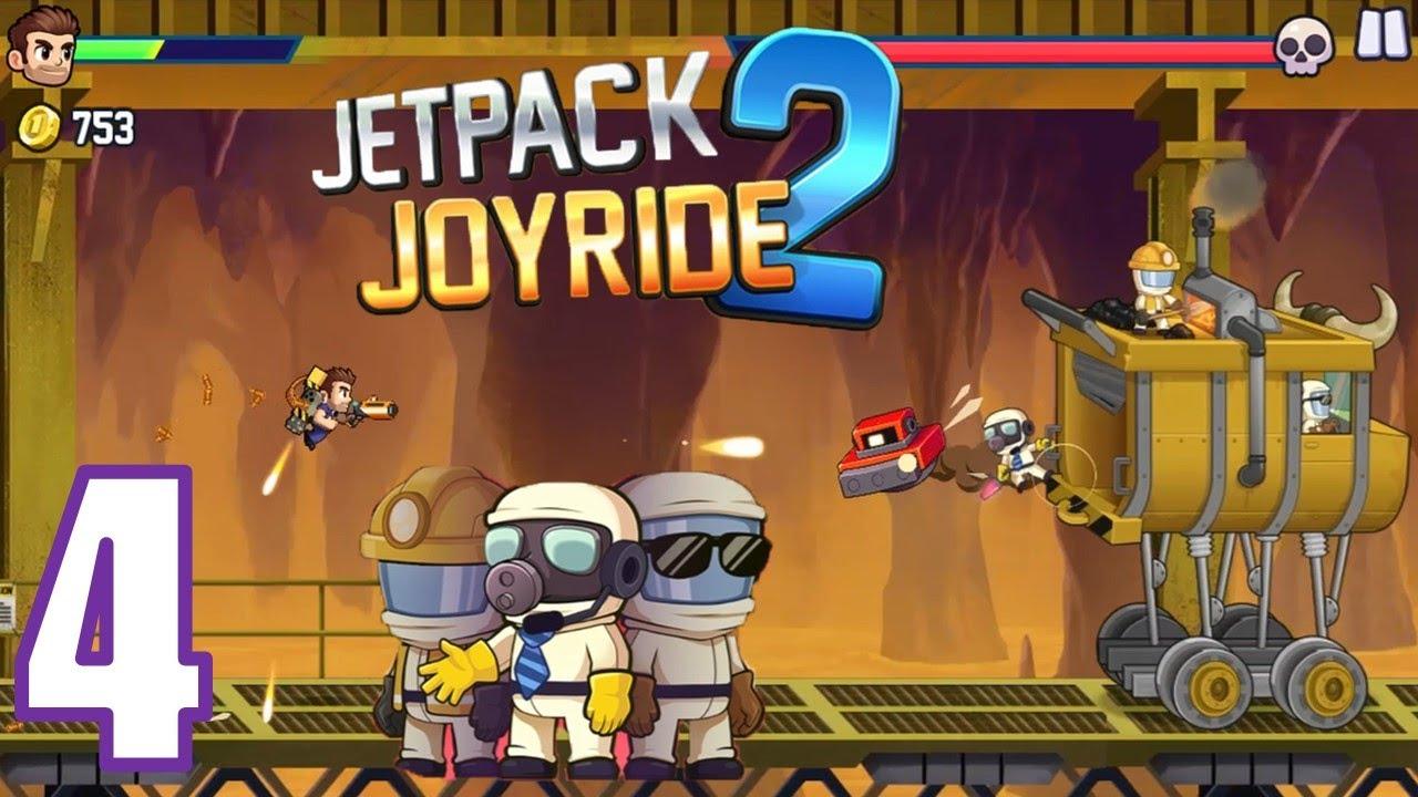 Jetpack Joyride 2   EL EQUIPO CIENTÍFICO   Android gameplay #4