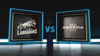 3BALL USA Showcase | Day 3: Quarterfinal #4 | Leaping Labradors vs Team All America