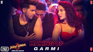 Making Of Garmi Song - Street Dancer 3D