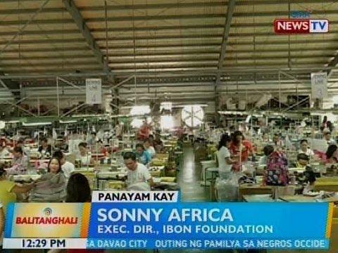 BT: Panayam kay Sonny Africa, Exec. Dir., IBON Foundation