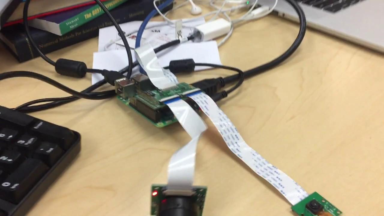 Raspberry Pi 3 - Video Streaming w/ Multiplexed Camera Input