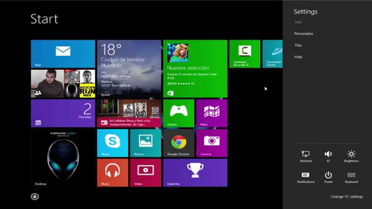 Windows 10 Technical Preview on Alienware M17x R1 - YouTube