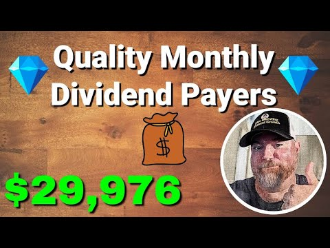 Top Stocks That Pay Monthly Dividends