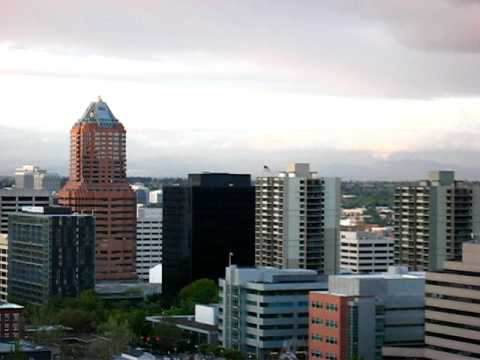 View of Portland, OR from near OHSU