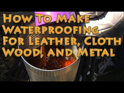 Homemade Waterproofing Leather Shoes
