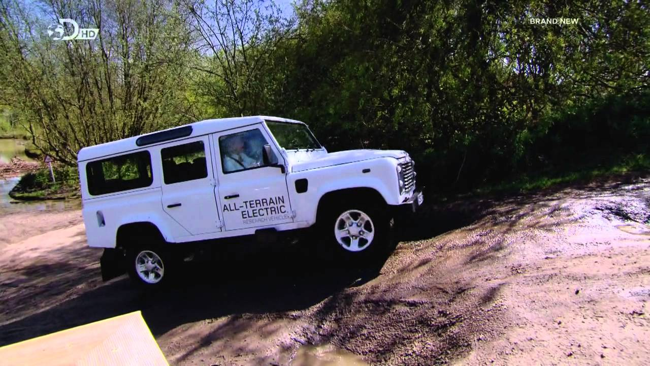 Land Rover Defender Electric Off-Road Test