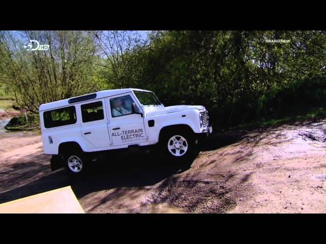Land Rover Defender Electric Off-Road Test
