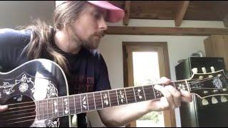 """Lukas Nelson - """"Lonesome Friends of Science"""" John Prine Cover (Quarantunes Evening Session)"""