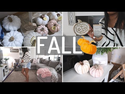 FALL CLEAN AND DECORATE WITH ME 2019 | FALL HOME DECOR IDEAS | FARMHOUSE FALL DECOR | CRISSY MARIE
