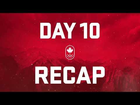 Day 10 Recap - Team Canada