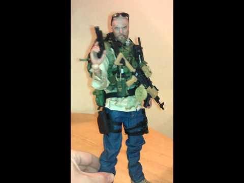 1/6 CIA advisor kit bash figure