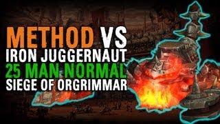 Method vs Iron Juggernaut (25 Normal)