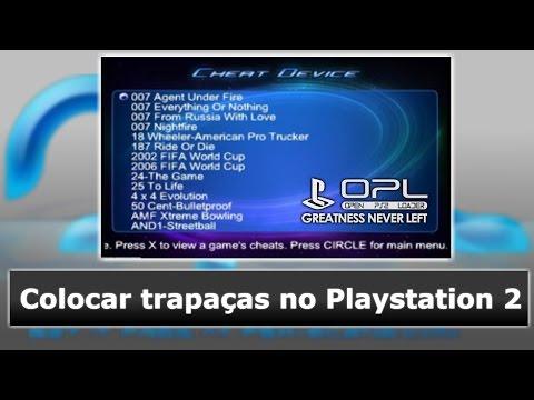 Playstation 2: Como usar o Codebreaker no OPL (completo) - HDKaynak: YouTube · Süre: 6 dakika4 saniye