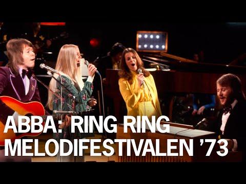 ABBA: Ring Ring - Live at Melodifestivalen 1973 #Eurovision #Rare #Unreleased