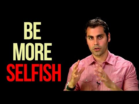 Want More Confidence? Be More Selfish! - Dr. Aziz, Confidence Coach