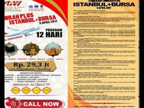 Itenerary Umroh Plus Istanbul + Bursa