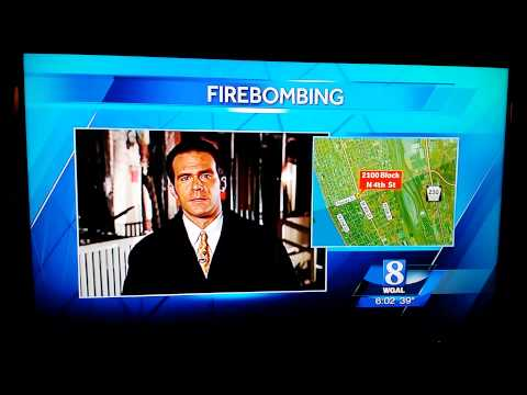 WGAL 8 reporter fail