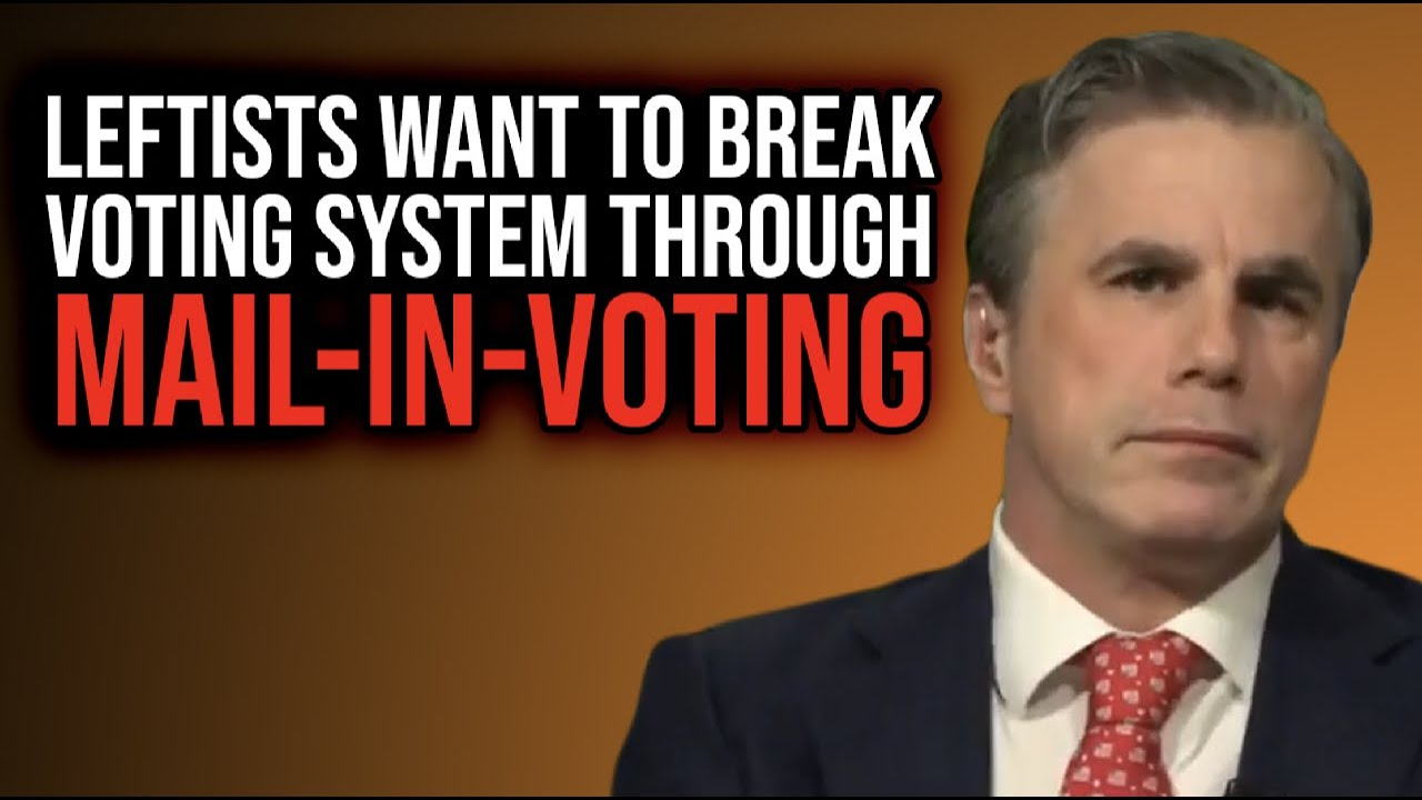Tom Fitton: Leftists Want to BREAK Voting System Through Mail-in-Voting Push!