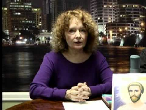 TV Interview -- Donna Channeling St. Germain