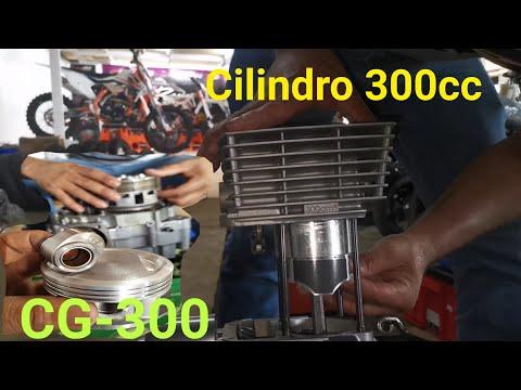 Instalación CILINDRO CG 300cc 72mm RACING Para Proyecto 4K Cobra 300