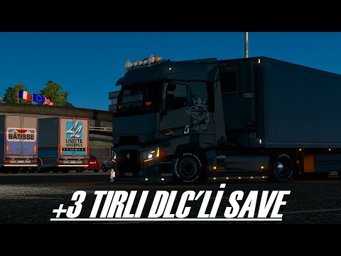🚚ETS 2🚚🔥 +3 TIRLI DLC'Lİ SAVE FULL KODLU🔥