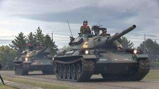 第10戦車大隊 74式戦車 2018 ダイジェスト