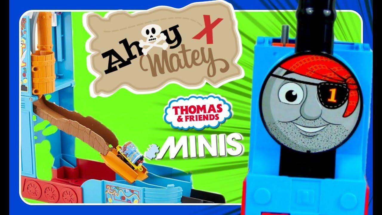 Mateys Ahoy Pop-up Playset Fisher-Price  Thomas /& Friends MINIS