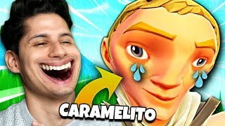 10 minute BULLIZZANDO and NO SKIN are Fortnite * CARAMELITOS *