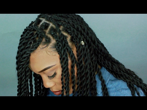 HOW TO: CHUNKY SENEGALESE TWIST