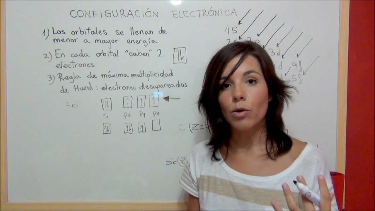 quimica configuracin electrnica de los elementos qumicos youtube