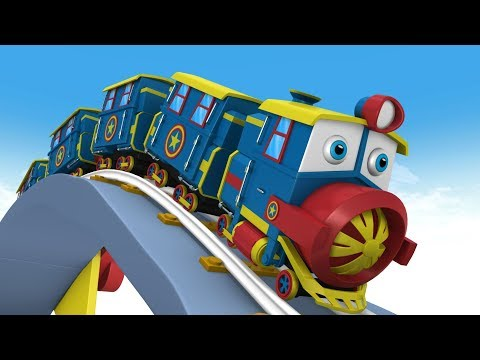 Cartoon Cartoon - Choo Choo Train - Trains for Kids - Train