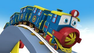 Cartoon Cartoon - Choo Choo Train - Trains For Kids - Train - Toy Factory Cartoon