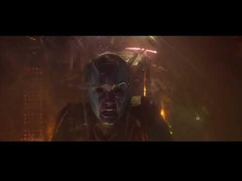 Gamora vs Nebulosa DUBLADO HD   Guardiões da Galáxia Vol. 2