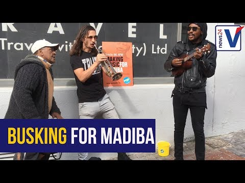WATCH: 67 buskers in Cape Town perform for #MandelaDay