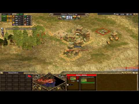 [Rise of Nations] |Standard 1v1| |IND|_DangerousDave(Maya) Vs Pooontang(Chinese) [2012]