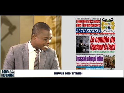 Revue Bénin 15 septembre 2021   Sikka TV