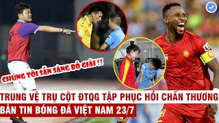VN Sports 23/7 | Bị xử ép CLB Nam Định sẵn sàng bỏ V-League, sao Thanh Hóa tự tin đánh bại HAGL