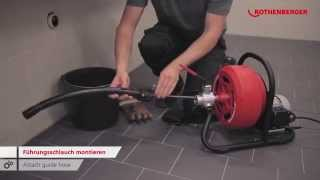 RODRUM S – Trommelmaschine / Drum drain cleaning machine