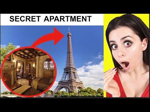 SECRET ROOMS Hidden in Famous Locations !