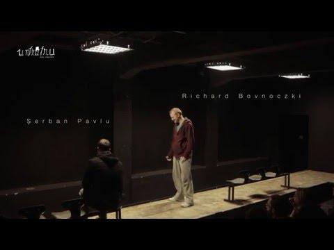 """Trailer """"The Sunset Limited"""" de Cormac McCarthy -  Teatrul UNTEATRU Bucuresti"""