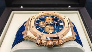 The HOTTEST Watch on Instagram – 41mm AP RO Chrono New vs Old