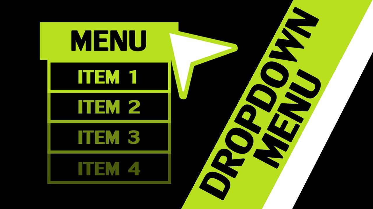 GameMaker Studio – Dropdown Menu Component