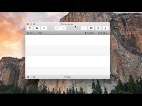 Transmission   лучший Torrent клиент для Mac OS X
