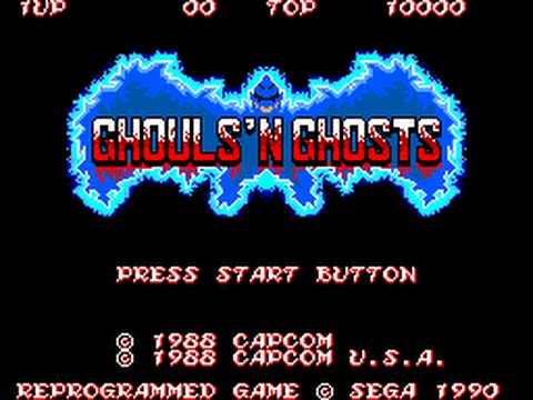 Master System Longplay [040] Ghouls 'n Ghosts