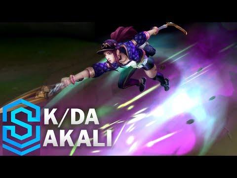 K/DA Akali Skin Spotlight - Pre-Release - League of Legends