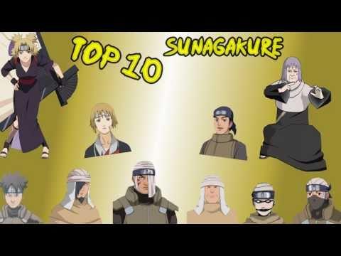 NARUTO Top 10 - [ Shinobi