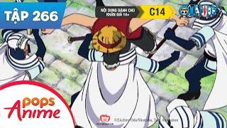 One Piece Tập 266 - Mở Cánh Cổng Thứ 2! Đối Đầu Với Người Khổng Lồ - Phim Hoạt Hình
