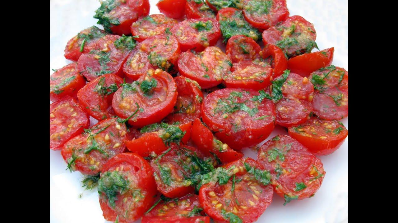 Помидоры по-корейски / Вкуснейшая закуска / Super Korean Tomatoes Recipe