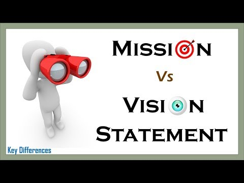 Mission Statement Vs Vision Statement: Definition, Examples And Comparison Chart