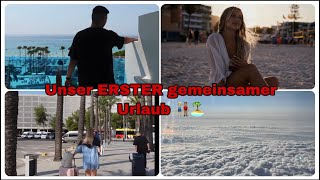Unser erster gemeinsamer Urlaub 👩🏼🤝👨🏽 😍🏝 Couple Urlaub 🇪🇸 | Jolineelisa